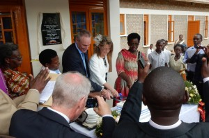 Cake Cutting by Dr Diana , Sr Nancy and Jim and Avril Devaney